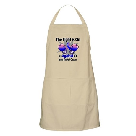Fight Male Breast Cancer Apron