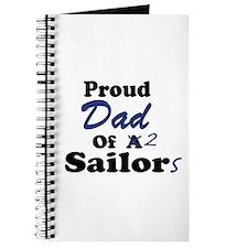 Proud Dad 2 Sailors Journal