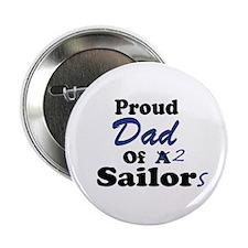 Proud Dad 2 Sailors Button