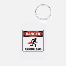 Flammable Keychains