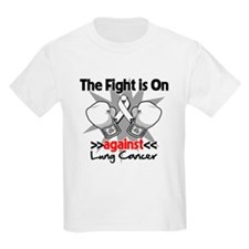 Fight is On Lung Cancer T-Shirt