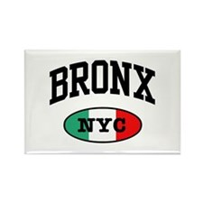 Italian Bronx NYC Rectangle Magnet