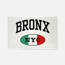 Italian Bronx NYC Rectangle Magnet