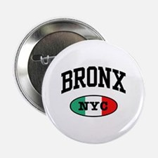 Italian Bronx NYC Button