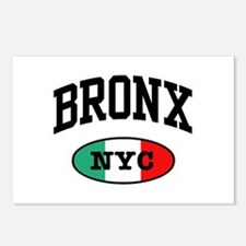 Italian Bronx NYC  Postcards (Package of 8)