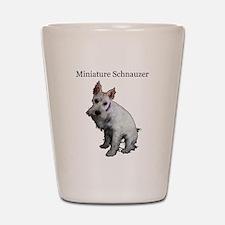 Miniature Schnauzer Shot Glass