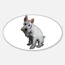Miniature Schnauzer Sticker (Oval)