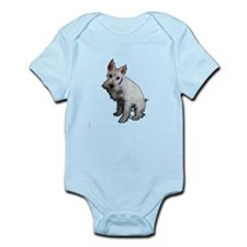 Miniature Schnauzer Infant Bodysuit