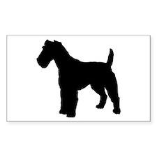 Fox Terrier Silhouette Decal