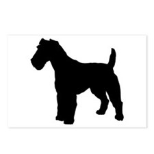 Fox Terrier Silhouette Postcards (Package of 8)