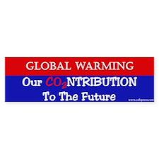 Our Contribution to the Future Bumper Bumper Sticker