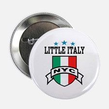 Little Italy NYC Button