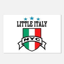 Little Italy NYC  Postcards (Package of 8)
