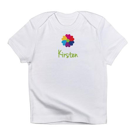 Kirsten Valentine Flower Infant T-Shirt