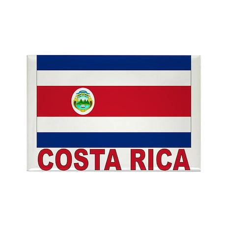Costa Rica Flag Rectangle Magnet