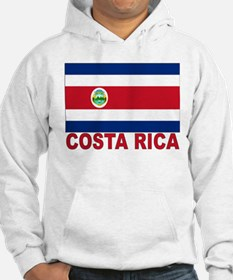 Costa Rica Flag Jumper Hoody