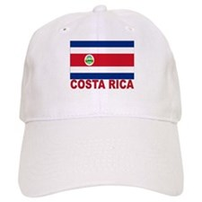 Costa Rica Flag Baseball Baseball Cap