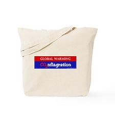 CO2nflagration Tote Bag