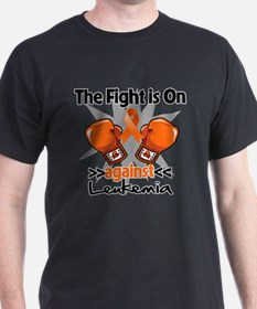Fight is On Leukemia T-Shirt