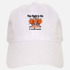 Fight is On Leukemia Baseball Baseball Cap