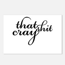 That Shit Cray Postcards (Package of 8)