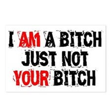 I Am A Bitch Postcards (Package of 8)