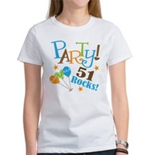 51 Rocks 51st Birthday Tee