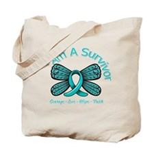 Ovarian Cancer I'm A Survivor Tote Bag