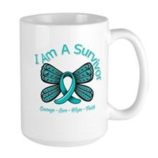 Ovarian Cancer I'm A Survivor Mug