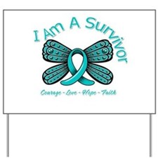 Ovarian Cancer I'm A Survivor Yard Sign