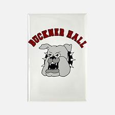 Buckner Hall Bulldogs Rectangle Magnet