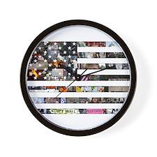 Occupy America Wall Clock