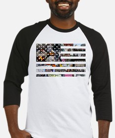 Occupy America Baseball Jersey