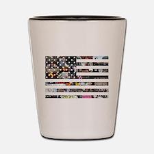 Occupy America Shot Glass