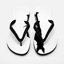 Great Dane Silhouette Flip Flops