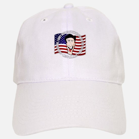 Romney's Tax Returns are a No Baseball Baseball Cap
