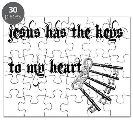 Jesus Has Keys to My Heart Puzzle