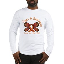 Multiple Sclerosis I'm A Survivor Long Sleeve T-Sh