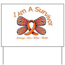 Multiple Sclerosis I'm A Survivor Yard Sign