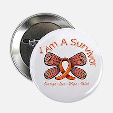 """Multiple Sclerosis I'm A Survivor 2.25"""" Button"""