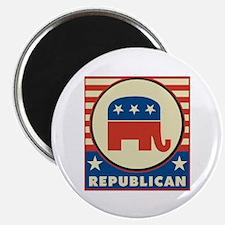 Retro Republican Magnet