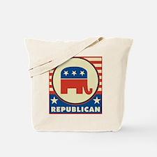Retro Republican Tote Bag