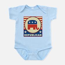 Retro Republican Infant Bodysuit
