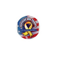 Support Our Troops Mini Button