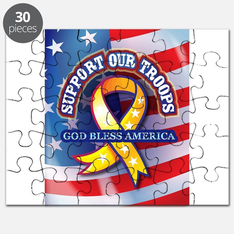 Support Our Troops Puzzle