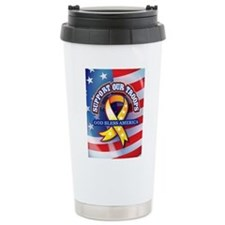 Support Our Troops Travel Mug