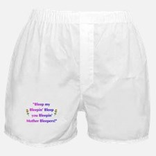 Bleeped! Boxer Shorts