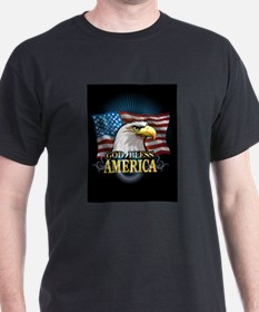 American Flags T-Shirt