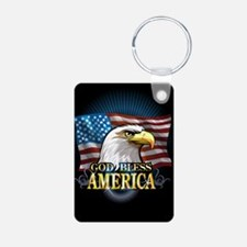 American Flags Keychains