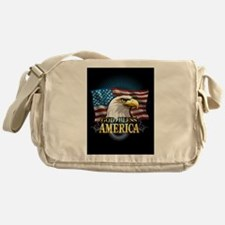 American Flags Messenger Bag